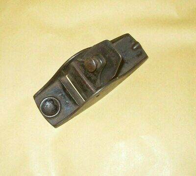 """Stanley 101 Plane (Iron Stanley Rule & Level Co.) 3 1/2"""" length - As Photo's."""