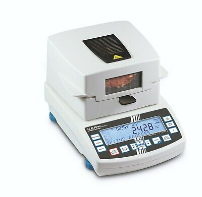MLS-D: Infrared moisture analyzer with graphics display and a vast database