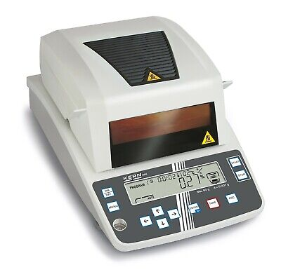DBS: Moisture analyser with graphics display and 10 memories for drying programs