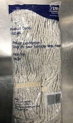 Single Ply 16oz Kentucky Mop Head Pack Of 3