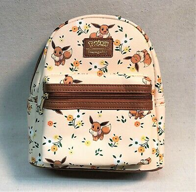 Pokemon Eevee Floral Mini Backpack By Loungefly BRAND NEW