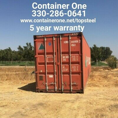 20 And 40 Steel Conex Storage Shipping Containers In Cincinnati