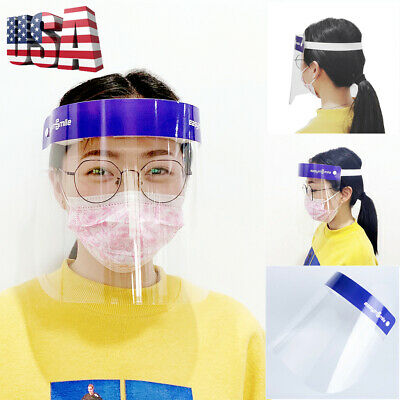 1PC Full Face Shield Safety Glass Eye Clear Visor Protector Anti-fogging/Splash