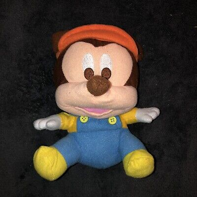 Baby Mickey Mouss Blue Overalls Orange Hat Window Suction Cup