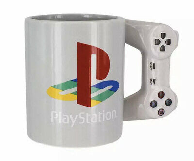 Official Sony Playstation Controller Handle Coffee Mug New In Gift Box