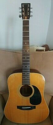 Sigma Guitars by C. F. Martin & Co. DM-4 Acoustic Guitar with Hard Case. VGC DM4