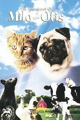The Adventures of Milo and Otis - DVD - Voiced by Dudley Moore #671