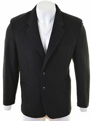 UNITED COLORS OF BENETTON Mens 2 Button Blazer Jacket IT 50 Large Wool  EL22