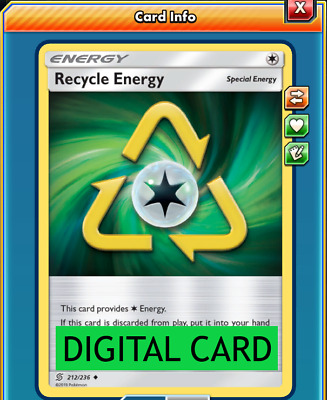 for Pokemon TCG Online 2x Stealthy hood Digital PTCGO in game card