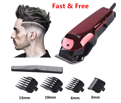 Simple Hair Clipper DC Wired Trimmer Hairdressing Kit Man Adjustable Haircutting