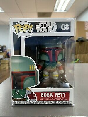 Funko Pop Star Wars BOBA FETT Bounty Hunter Vinyl Figure w/ Protector