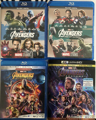 New Blu-Ray/4K DVDs (Digital codes included)