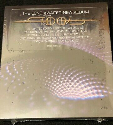 "TOOL Fear Inoculum Deluxe Limited Edition CD w/ 4"" HD Screen BRAND NEW SEALED"