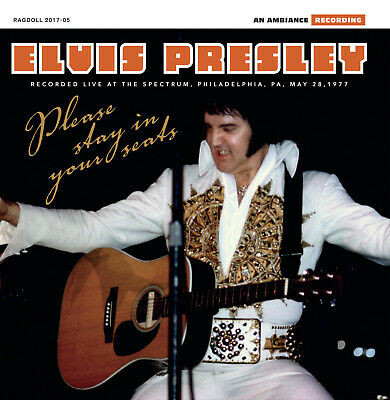 Elvis Collectors CD - Please Stay In Your Seats