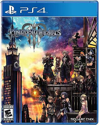 Kingdom Hearts III Kingdom Hearts 3 Playstation 4 PS4 Brand New Free Shipping
