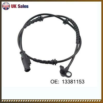 OPEL ADAM M13 1.2 ABS Sensor Front 13 to 19 Wheel Speed Bosch 1238399 1247506