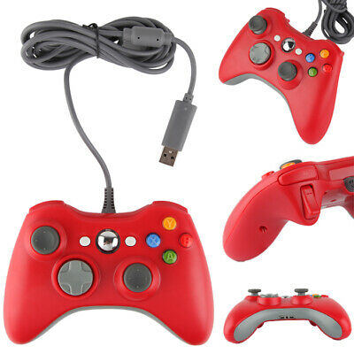 USB Long Wired Controller Gamepad For Official Microsoft Xbox 360 PC Windows MAC