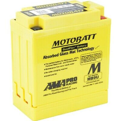 New Motobatt Battery For Aprilia RS125 125cc Through 2011 12N7-3A 12N7-3B