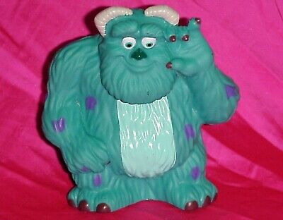 "Disney Parks Squeaky 5"" Monsters Inc Sully Vinyl Pool Bath Tub Toy"