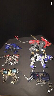 for Mechanical Zoids Wild Model Chain Base Nest DL Caution Details Decal Sticker