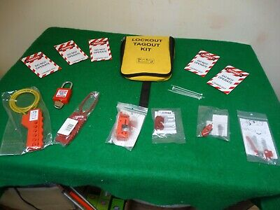 Lockout Tagout Kit From Work Safety Solutions.