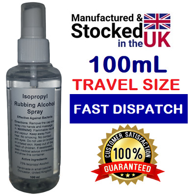 Isopropyl Rubbing Alcohol 75% First Aid Antiseptic, Isopropanol Pure IPA