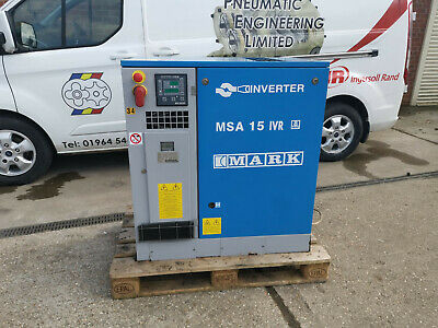 MARK SCREW COMPRESSOR 15kW VARIABLE SPEED WITH DRYER AND FILTERS