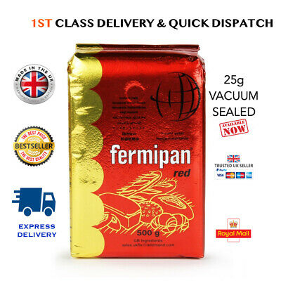 FERMIPAN Red Instant Dried Yeast 10g 25g 500g Bread Baking Vegan 1st Class P&P