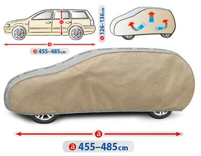 W124 estate Car Cover Waterproof UV Resistant Breathable Mercedes Class E W123