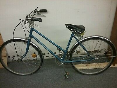 Rare 1970's Blue John Deere Female Three Speed Bike Lot#239-10500