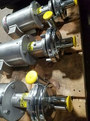 ***NEW**Stainless Steel Centrifugal Sanitary Pumps, Wright Technologies TRA-502