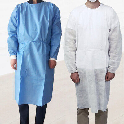 Safety Disposable Non Woven Drawstring Isolation Breathable Protective Suit