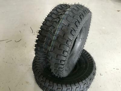 2x 15x6.00-6 4Ply Ride on Lawn Mower tractor turf tyres 15 6 6 15x600 6 15x600-6