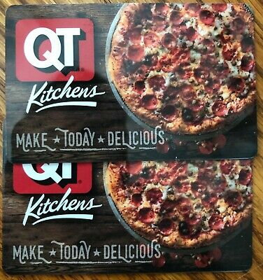 Lot of 4 EMPTY QT QuikTrip Harbor Freight Hilton Hotels Gift Cards $0 No Value