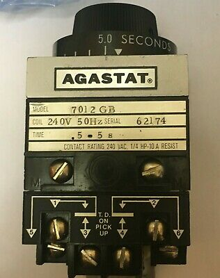 Agastat Model  7012 Gb  .Time Delay And Time Relay