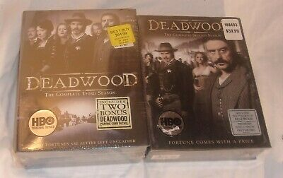Deadwood The Complete Second And Third Seasons New Still Sealed Includes Cards