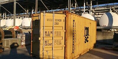 *READ DESCRIPTION BEFORE BUYING* - 20' CARGO WORTHY CONTAINER - Free Delivery