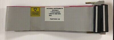 National Instruments R1005050 Ribbon Cable 182762B-01, 1 METER NEW