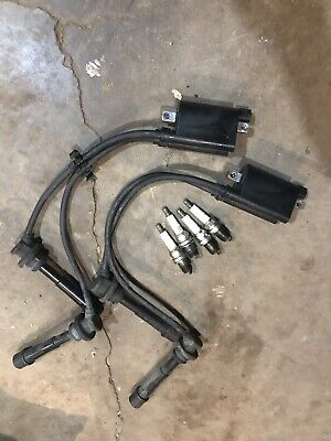 Johnson 140 Hp Outboard 4 Stroke Ignition Coils Spark Plugs