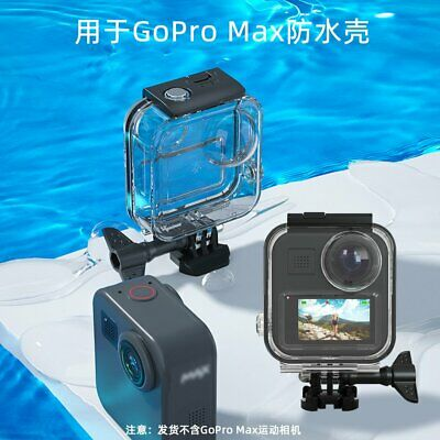 Underwater Waterproof Housing Diving Case Protective Cover For GoPro Max Camera