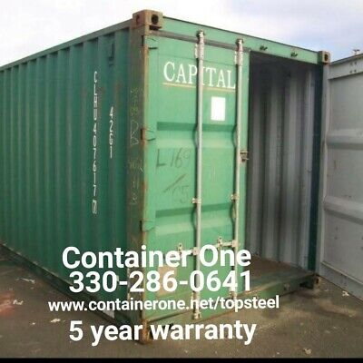 20 And 40 Steel Conex Storage Shipping Containers In St Louis