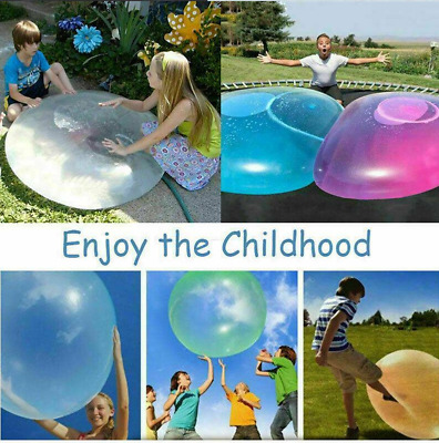 120CM Large Inflatable Wubble Bubble Ball Soft Stretch Outdoor Water Balloons
