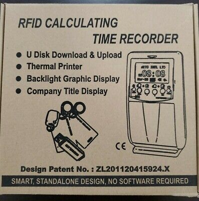 Allied Time Fingerprint & RFID Calculating Time Recorder AT-5000