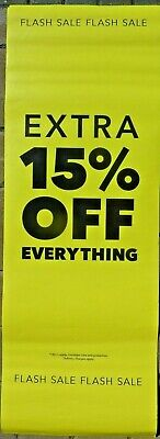 Flash Sale Extra 15 % Off Shop Sale Posters - Ends Soon & Ends Today Posters