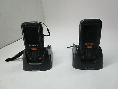 Qty-2 Datalogic Lynx Handheld Scanner Keyboard 256Mb Windows 6.5 Pro Wifi T13-C4