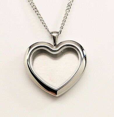 Heart Picture Locket Necklace || Photo Memorial Keepsake Jewelry || Engraveable