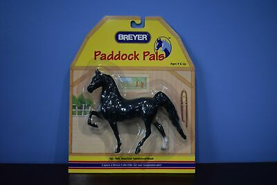 Black Saddlebred Paddock Pal-New in Package-Breyer Paddock Pal