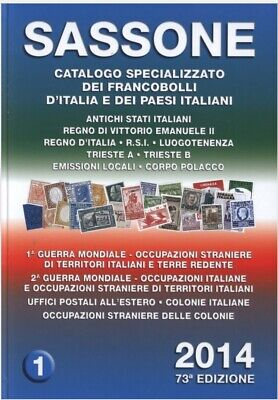 2014 Saxon specialized catalog of stamps of Italy