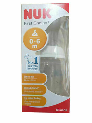 Nuk First Choice + 150ml bottle with size 1 silicone teat