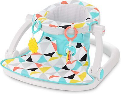 Fisher-Price GGC50 Sit-Me-Up Floor Seat, Comfy, Supportive Portable Infant Chair